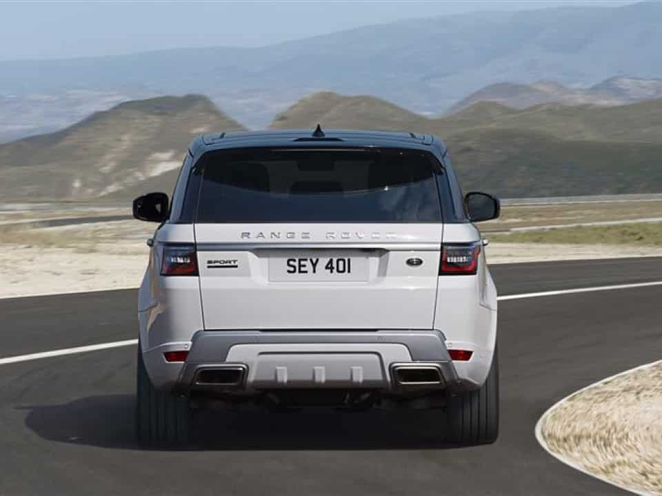 back of a Range Rover Sport