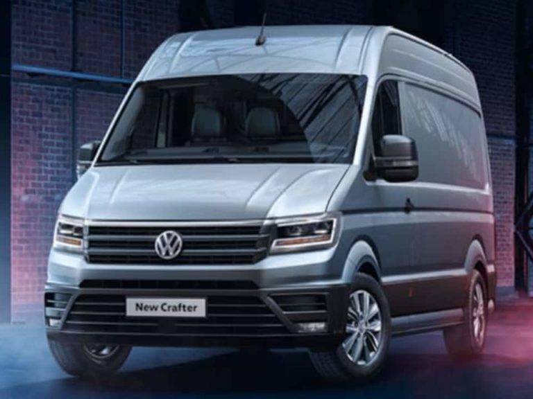 New Van Crafter CR35 LWB Startline Front Lease