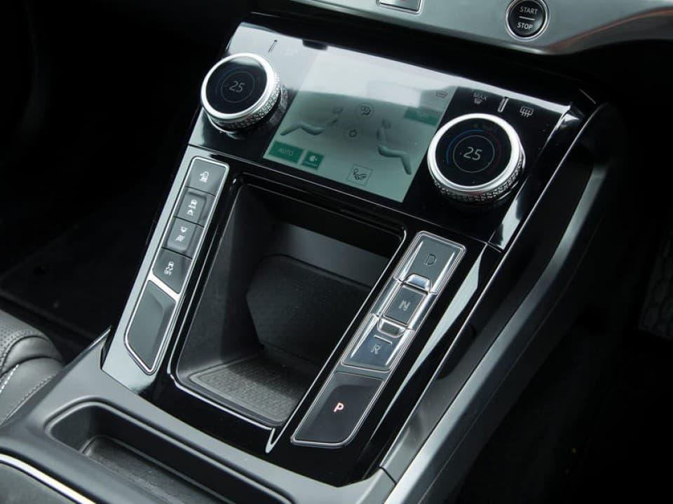 jaguar i pace centre console