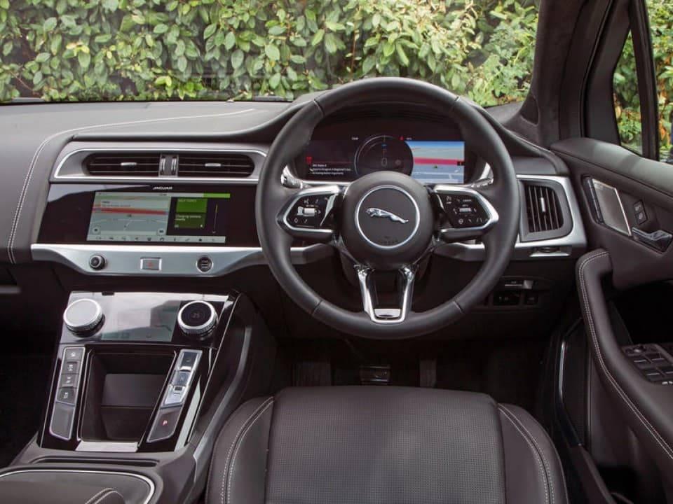 jaguar i pace dashboard