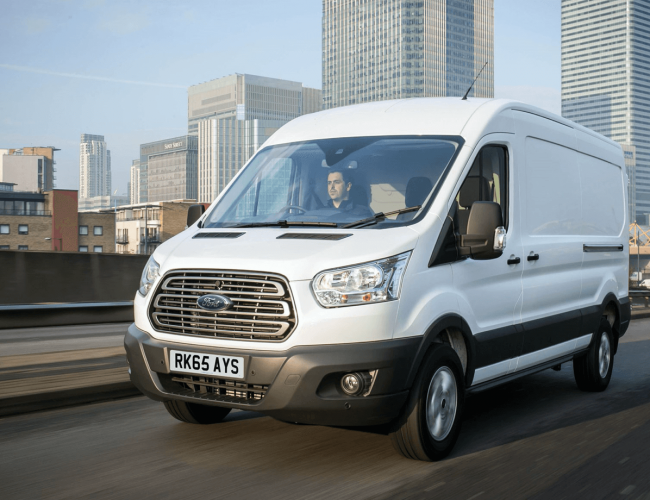 van leasing deals Exeter