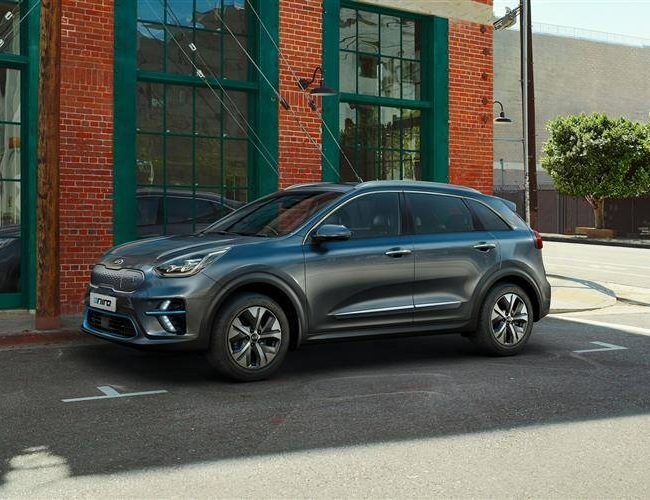 Kia e-niro electric side