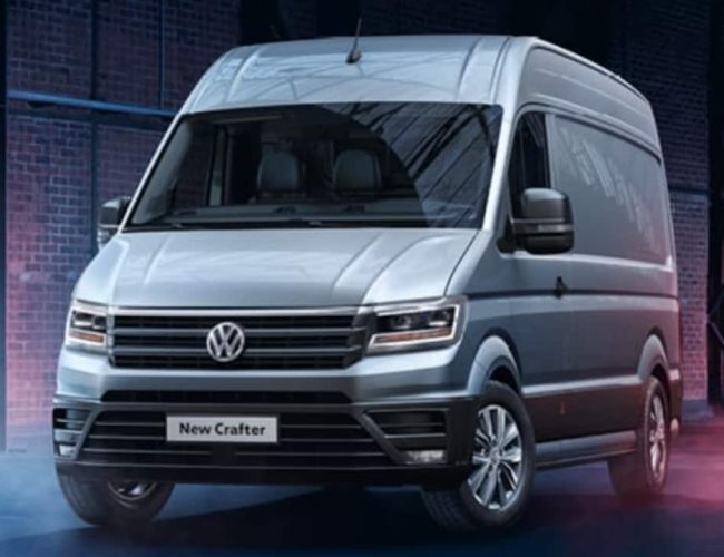 New Van Crafter CR35 LWB Startline Front Lease