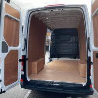 New Van Crafter CR35 LWB Startline barn doors Lease