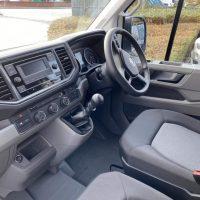 New Van Crafter CR35 LWB Startline interior Lease