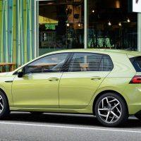 Volkswagen Golf MK8 Side