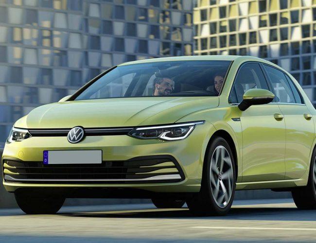 Volkswagen Golf MK8 Stance
